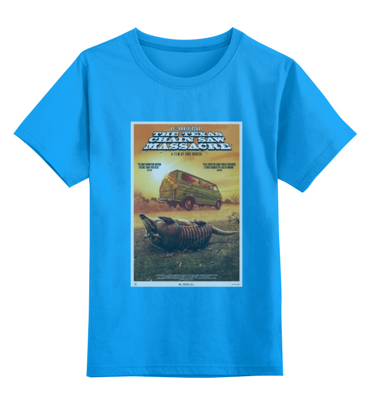 Детская футболка классическая унисекс Printio The texas chain saw massacre