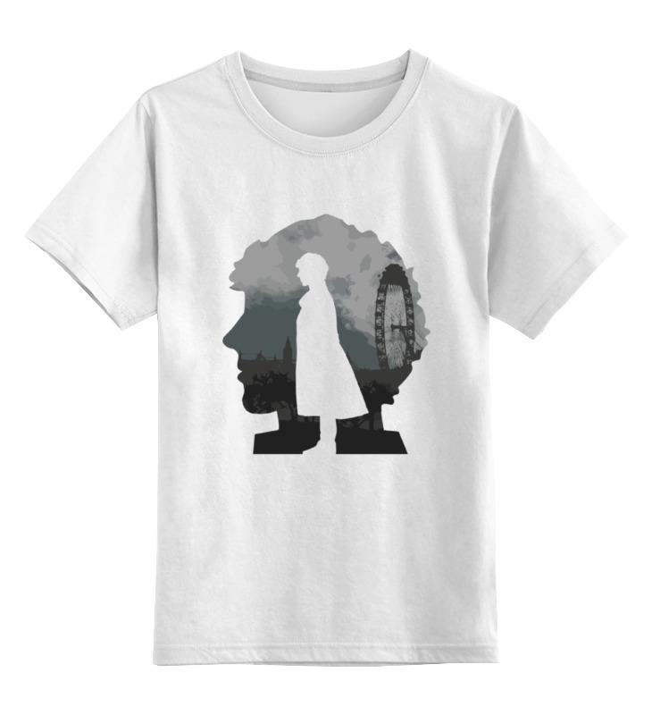 Printio Мир шерлока детская футболка классическая унисекс printio музыка и мир