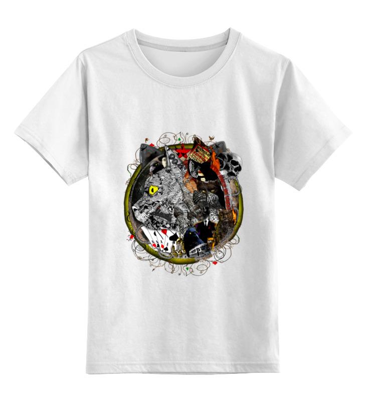 Детская футболка классическая унисекс Printio Мастер и маргарита