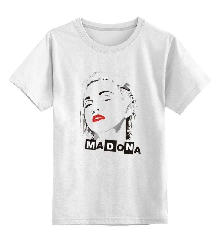 Детская футболка классическая унисекс Printio Мадонна (madonna) мадонна madonna celebration