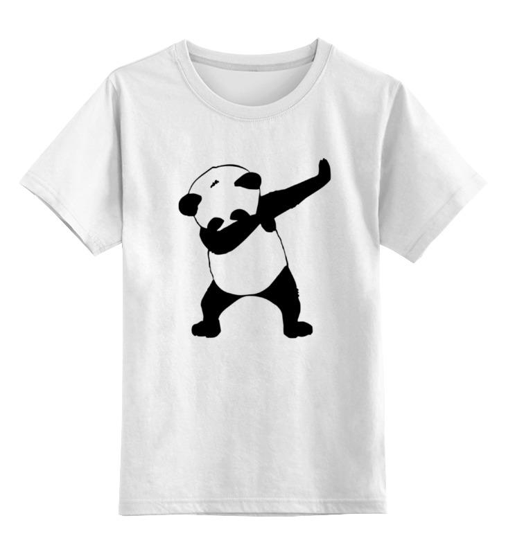 Детская футболка классическая унисекс Printio Panda dab детская футболка классическая унисекс printio король панда