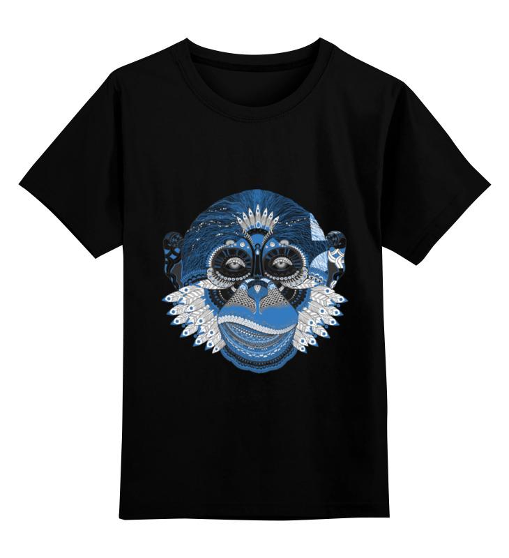 Детская футболка классическая унисекс Printio Обезьяна детская футболка классическая унисекс printio обезьяна планета обезьян
