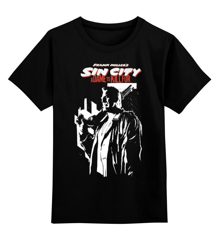 Детская футболка классическая унисекс Printio Sin city (город грехов) шапка классическая унисекс printio шапка автоград рап город грехов