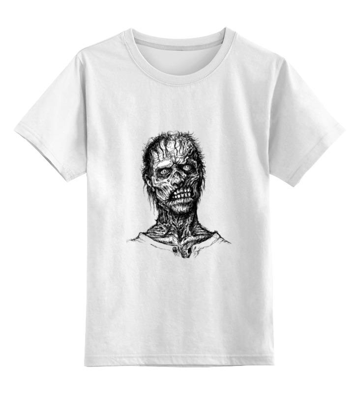 Детская футболка классическая унисекс Printio Zombie art детская футболка классическая унисекс printio zombie music