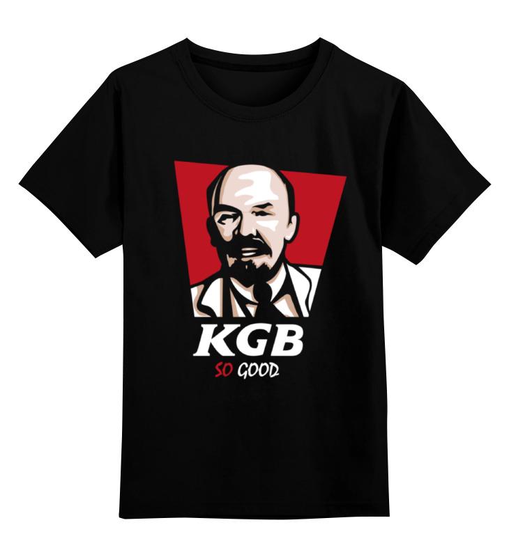 Детская футболка классическая унисекс Printio Kgb, so good (lenin) детская футболка классическая унисекс printio good luck