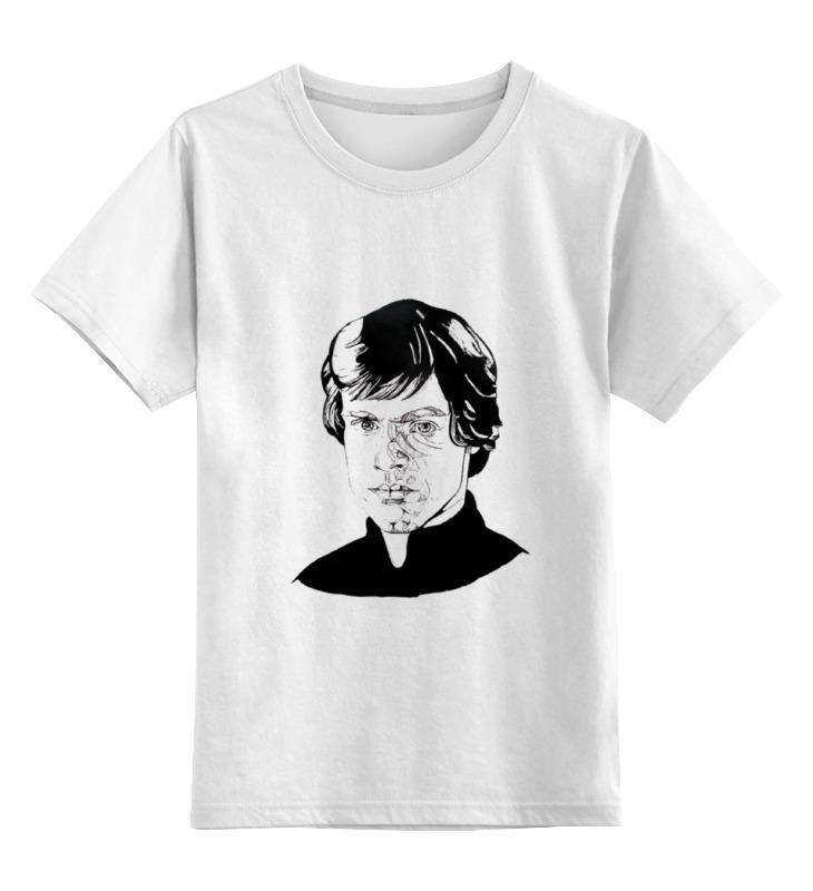 Детская футболка классическая унисекс Printio Люк скайуокер hasbro люк скайуокер и сноутрупер герои звездных войн