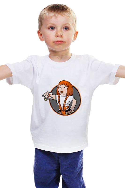 Детская футболка классическая унисекс Printio Пятый элемент (the fifth element) fifth harmony acapulco