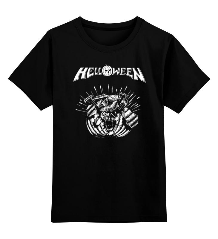Детская футболка классическая унисекс Printio Helloween ( rock band )