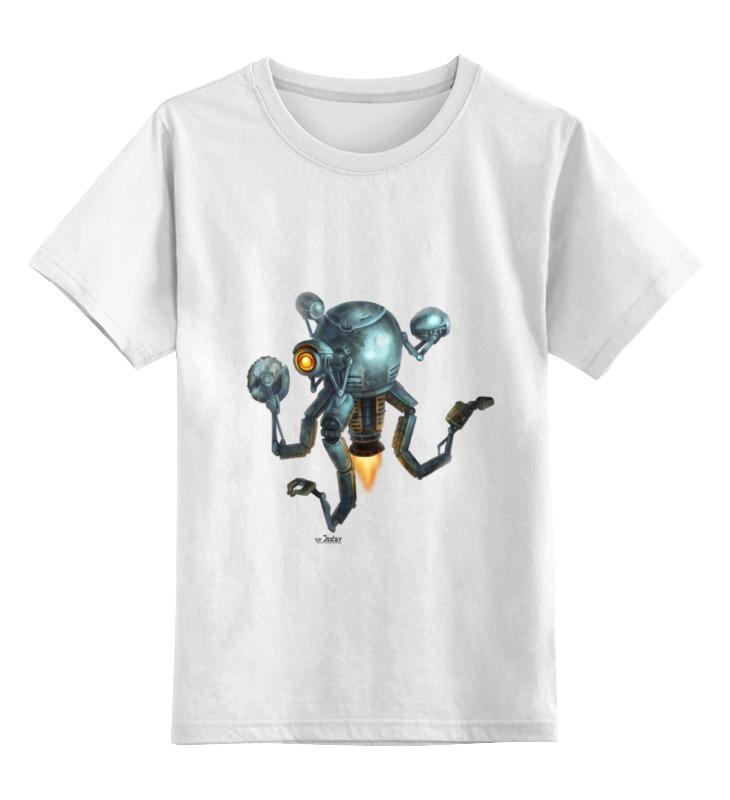 Детская футболка классическая унисекс Printio Mr handy