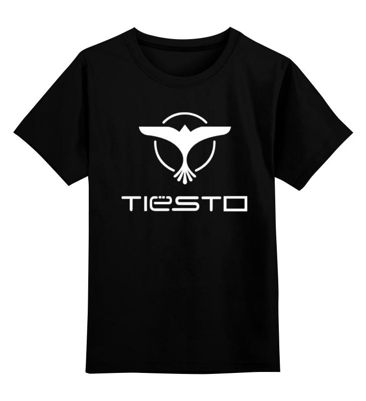 все цены на Детская футболка классическая унисекс Printio Tiesto (тиесто) онлайн