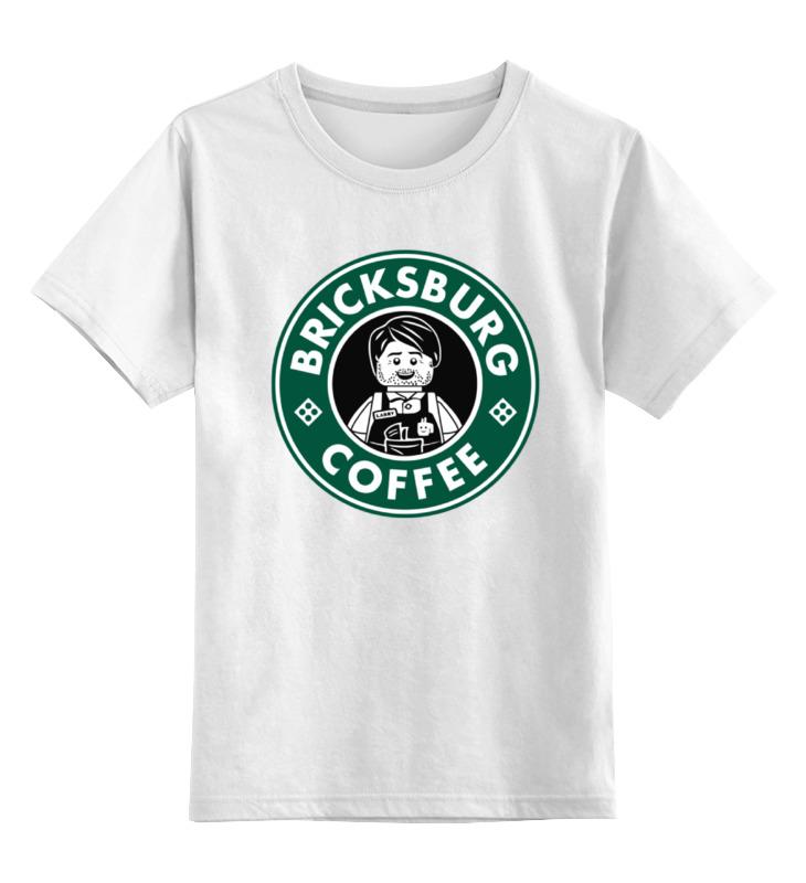 Детская футболка классическая унисекс Printio Лего кофе детская футболка классическая унисекс printio лего lego