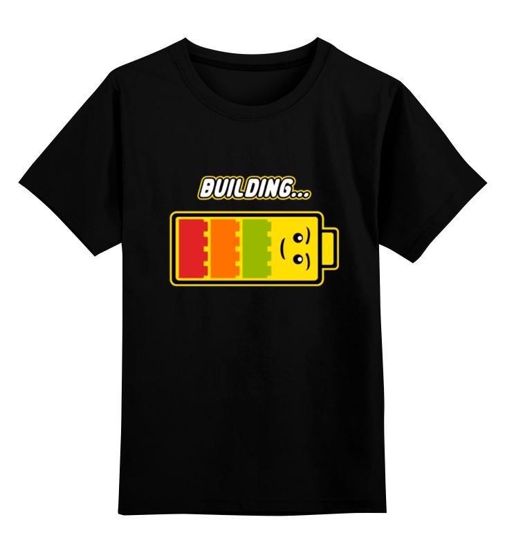 Детская футболка классическая унисекс Printio Лего (строительство)