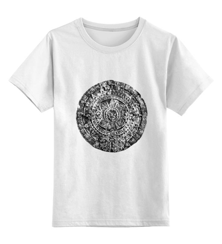 Детская футболка классическая унисекс Printio Ацтек цена 2017