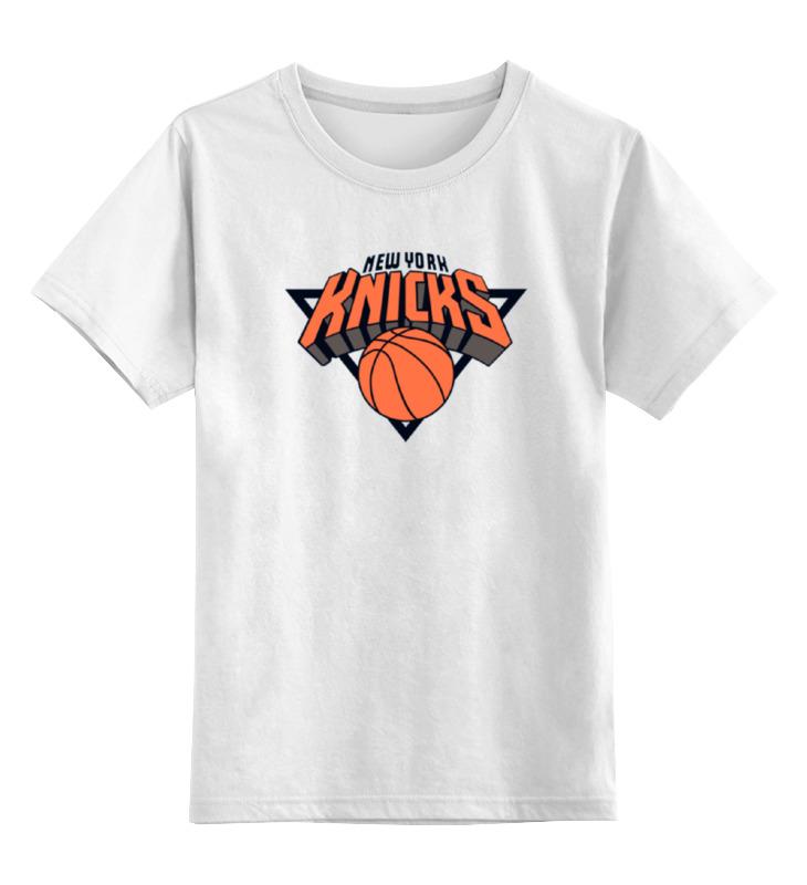 Детская футболка классическая унисекс Printio Нью-йорк никс футболка с полной запечаткой printio нью йорк никс