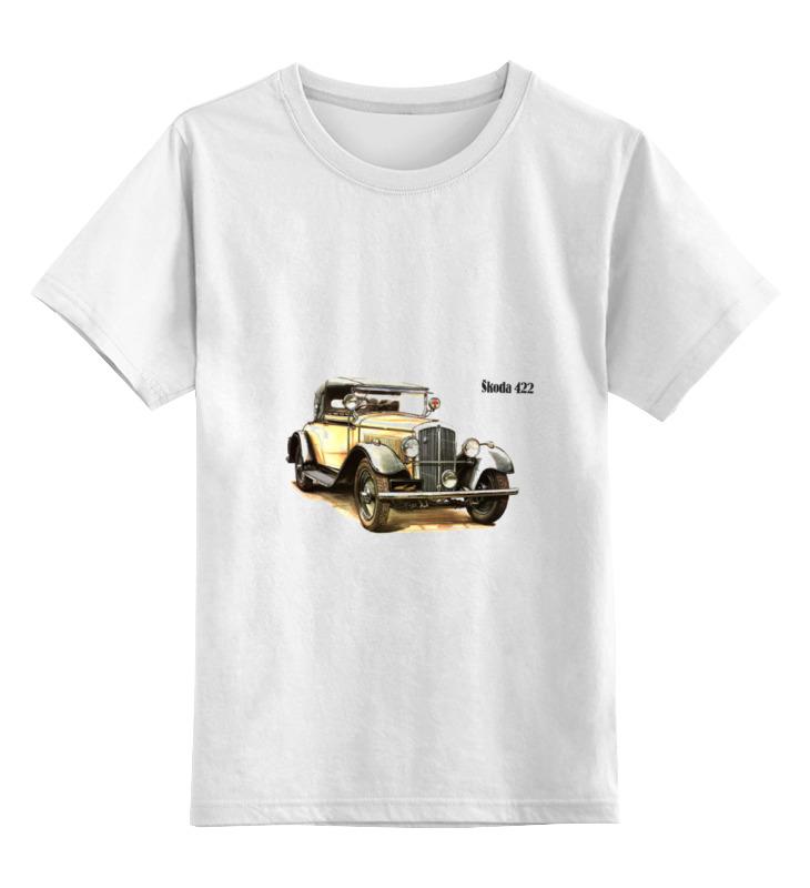 Детская футболка классическая унисекс Printio Ретроавтомобили 2 цена и фото