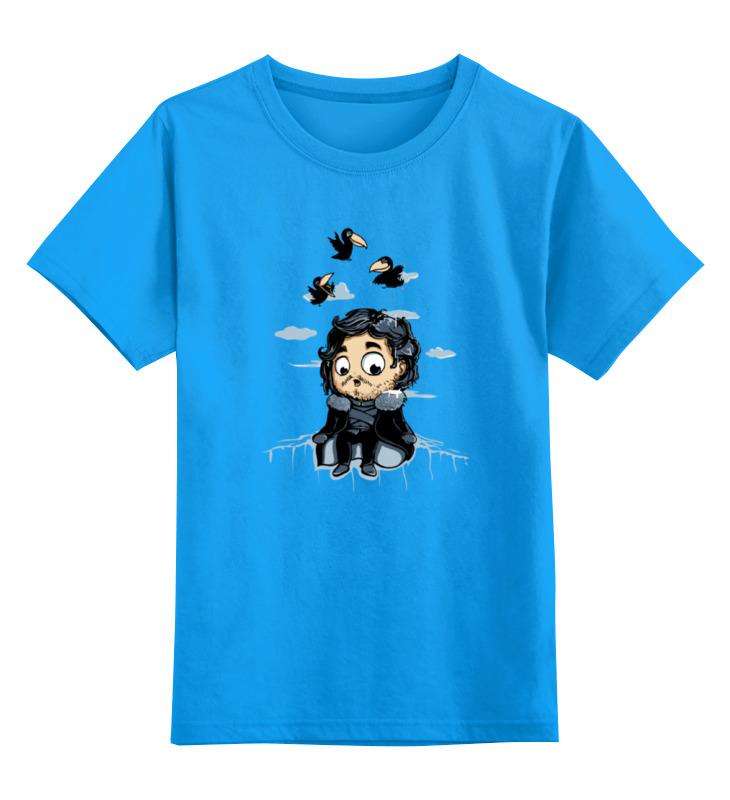 Детская футболка классическая унисекс Printio Джон сноу (игра престолов) детская футболка классическая унисекс printio jon snow из сериала игра престолов 5