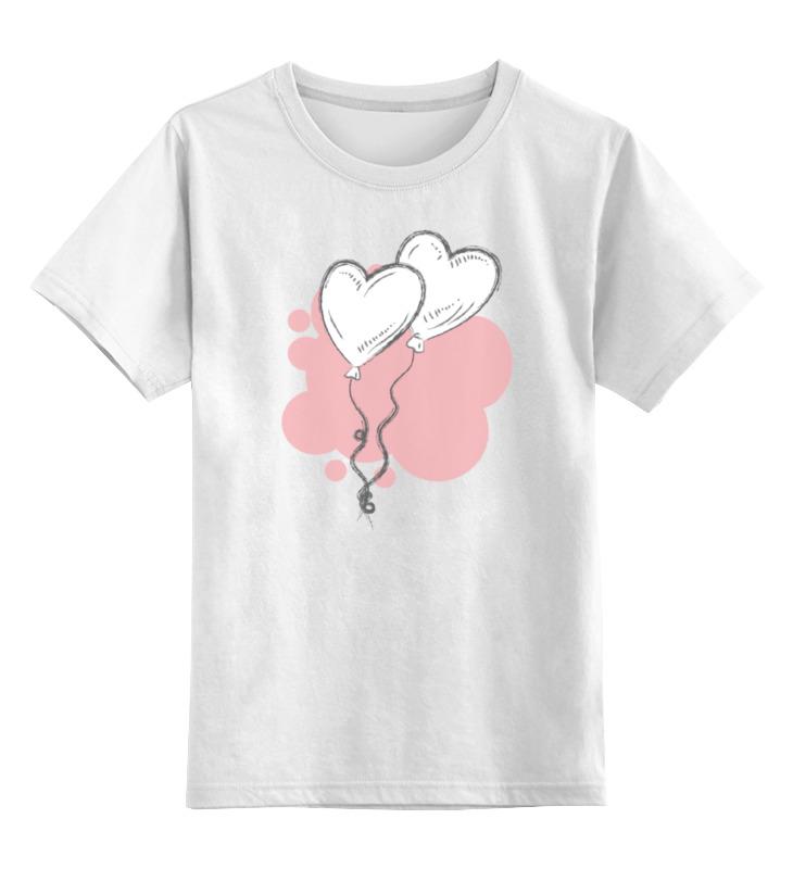 где купить Детская футболка классическая унисекс Printio Воздушные шарики дешево
