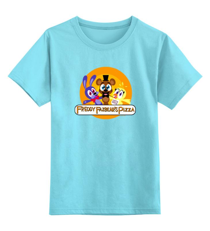Детская футболка классическая унисекс Printio Five nights at freddy