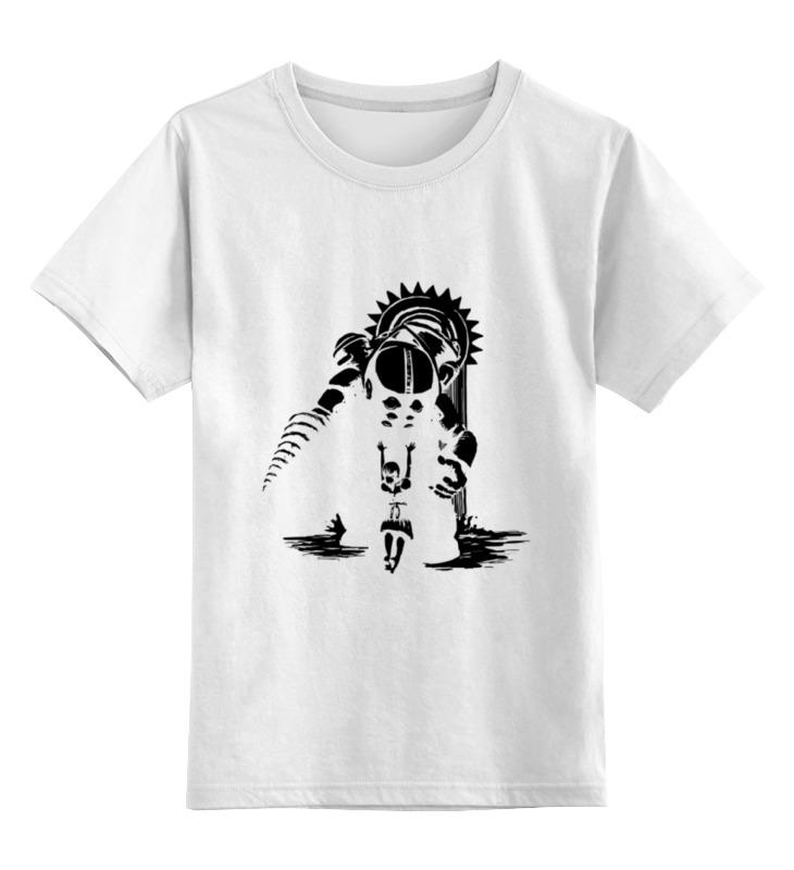 Детская футболка классическая унисекс Printio Biochock - big daddy сумка printio biochock big daddy