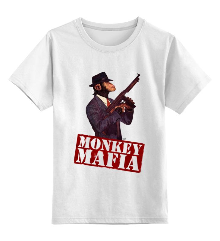 Printio Monkey mafia детская футболка классическая унисекс printio steampunk monkey