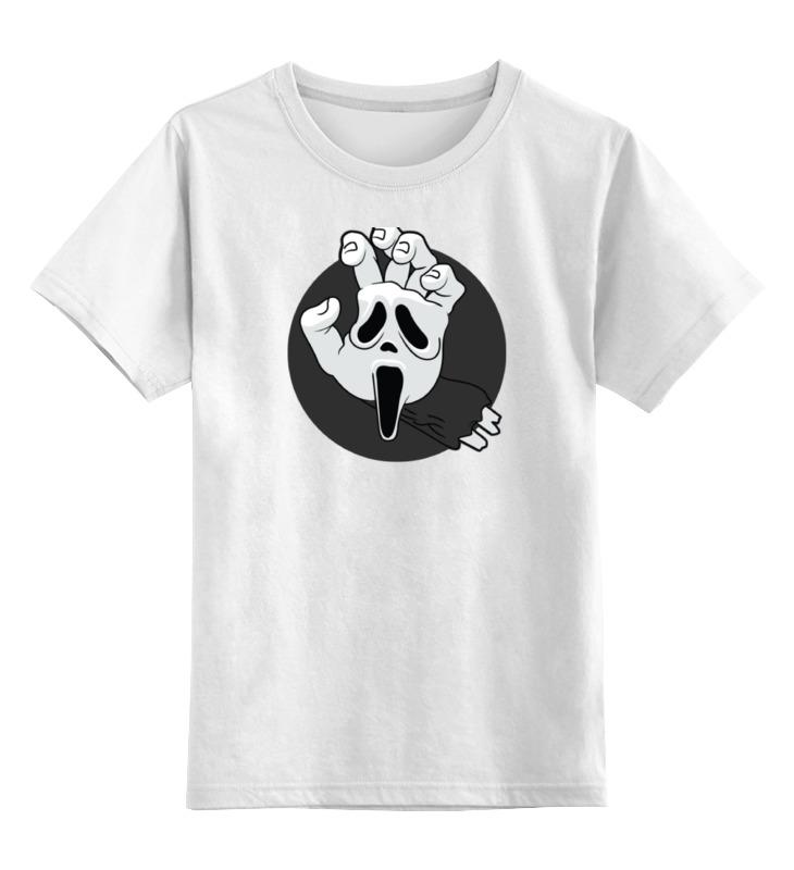 Детская футболка классическая унисекс Printio Крик (scream) футболка рингер printio крик scream