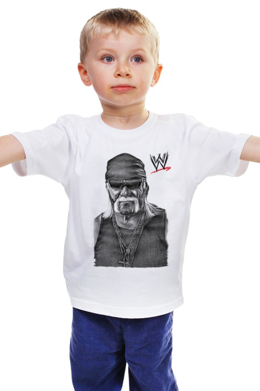 Детская футболка классическая унисекс Printio Wrestlemania детская футболка классическая унисекс printio мачете
