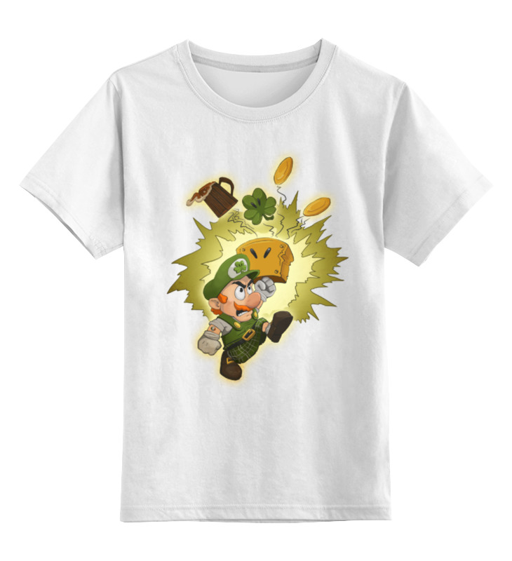 Детская футболка классическая унисекс Printio Марио детская футболка классическая унисекс printio кинг бу марио