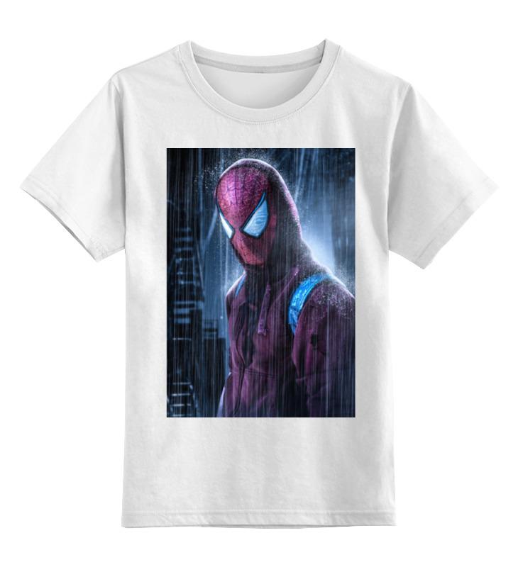Детская футболка классическая унисекс Printio Человек-паук (spider-man) футболка человек паук детская