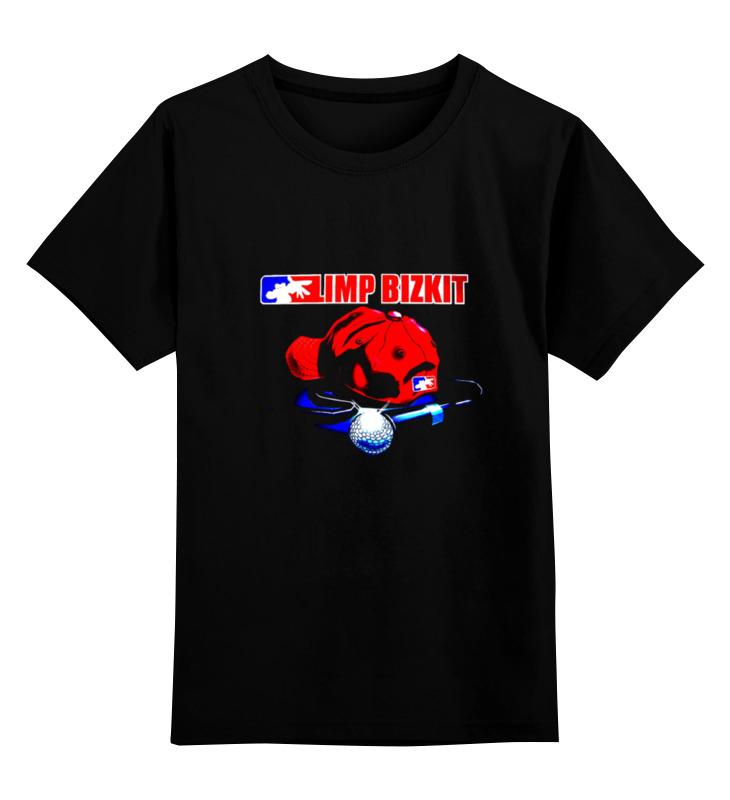 Детская футболка классическая унисекс Printio Limp bizkit