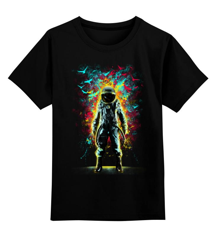 Детская футболка классическая унисекс Printio Внутреннее пространство детская футболка классическая унисекс printio мачете