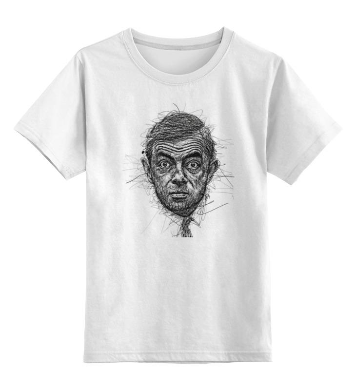 Детская футболка классическая унисекс Printio Mr bean детская кожаная обувь mr baby wa15 096 mr baby2015
