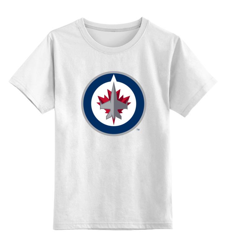 Детская футболка классическая унисекс Printio Winnipeg jets / nhl canada футболка wearcraft premium printio winnipeg jets nhl canada