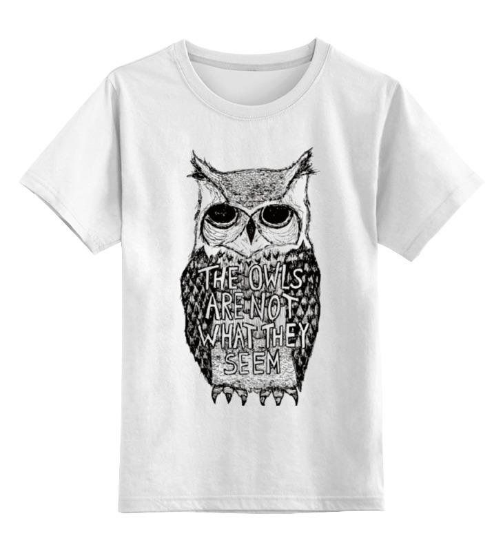 Детская футболка классическая унисекс Printio Совы не те, кем кажутся puzzle 500 яркие совы alpz500 7701
