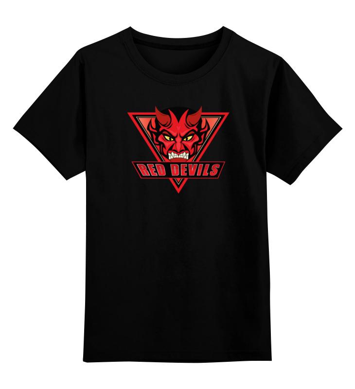 Printio Red devils детская футболка классическая унисекс printio nj devils