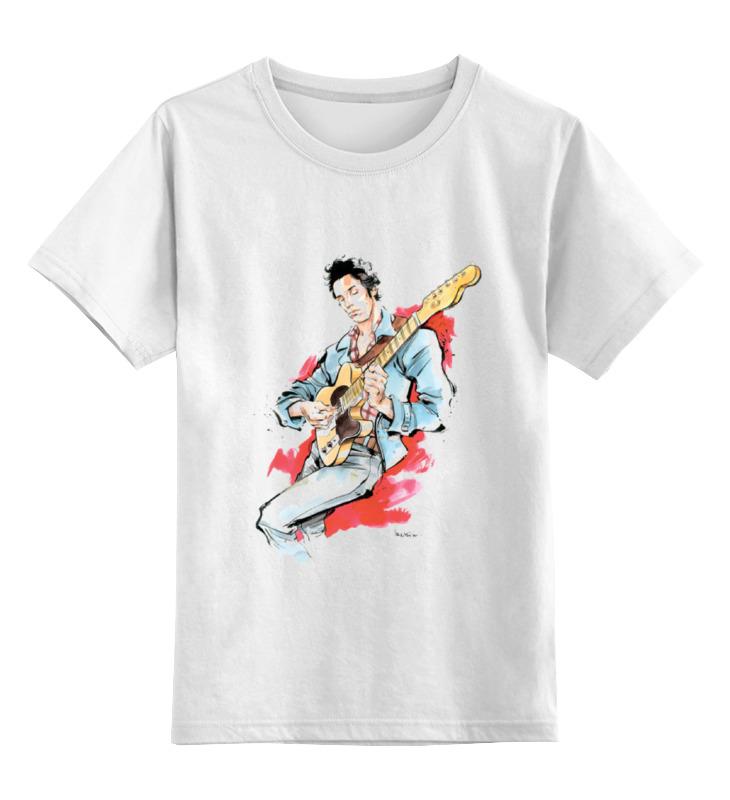 Детская футболка классическая унисекс Printio Брюс спрингстин футболка wearcraft premium printio брюс спрингстин