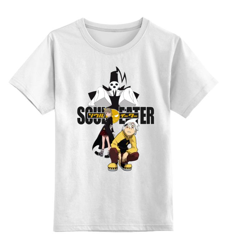 все цены на Детская футболка классическая унисекс Printio Soul eater
