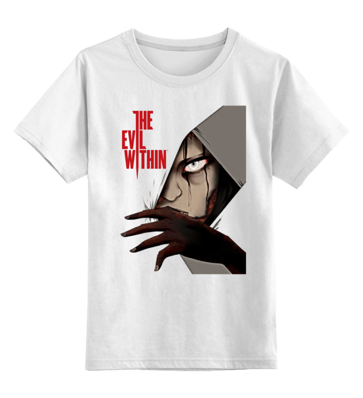 Детская футболка классическая унисекс Printio The evil within футболка evil dead