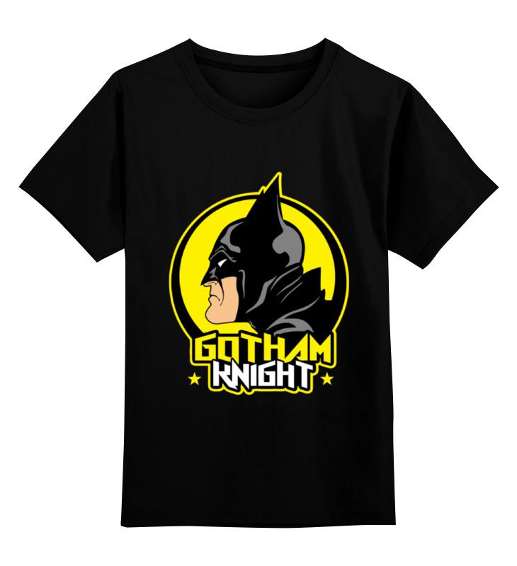 Детская футболка классическая унисекс Printio Gotham knight футболка для беременных printio gotham knight