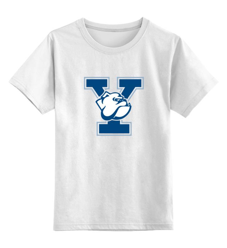 Детская футболка классическая унисекс Printio Yale bulldogs door yale locks