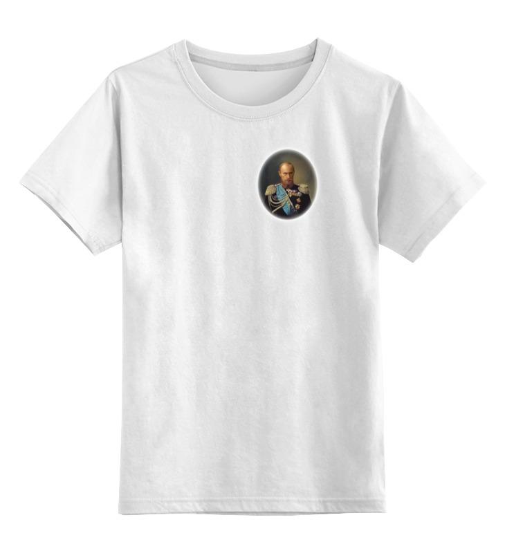 Детская футболка классическая унисекс Printio путин-царь футболка классическая printio царь просто царь