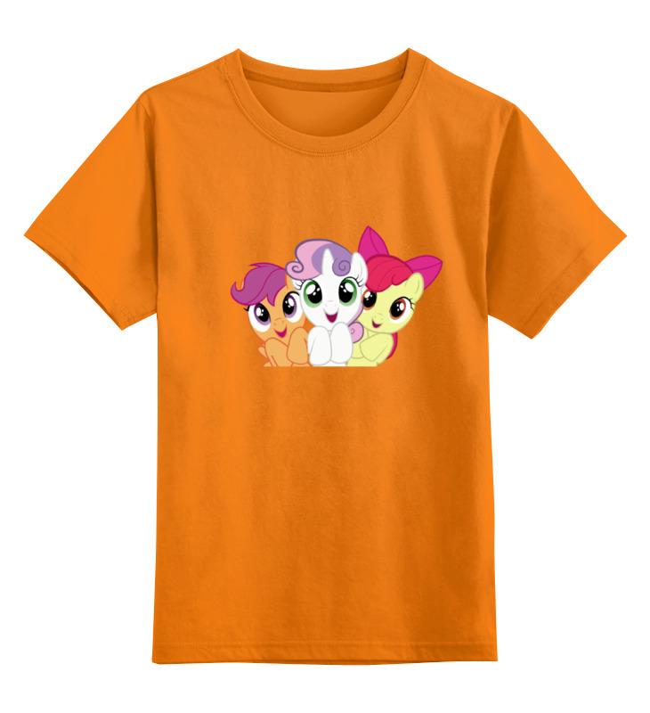 Детская футболка классическая унисекс Printio Cutie mark crusaders стоимость