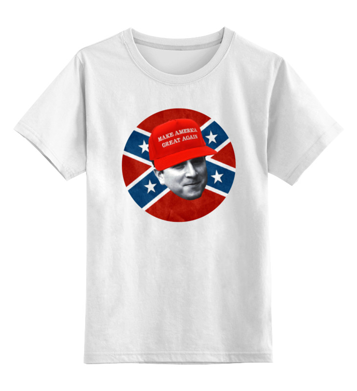 Детская футболка классическая унисекс Printio Dixie rebel kappa футболка wearcraft premium slim fit printio dixie rebel kappa