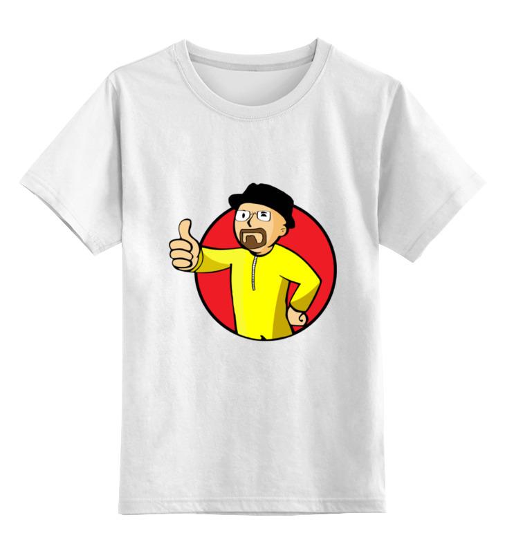 Детская футболка классическая унисекс Printio Vault boy breaking bad футболка bad boy футболка bad boy rio tee charcoal