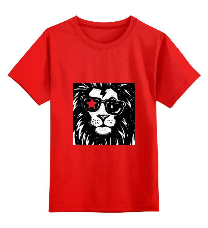 Детская футболка классическая унисекс Printio Животные smoby детская горка king size цвет красный