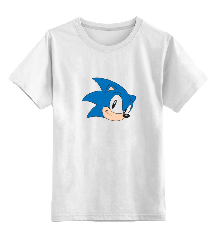 Printio Sonic hedgehog head цена и фото