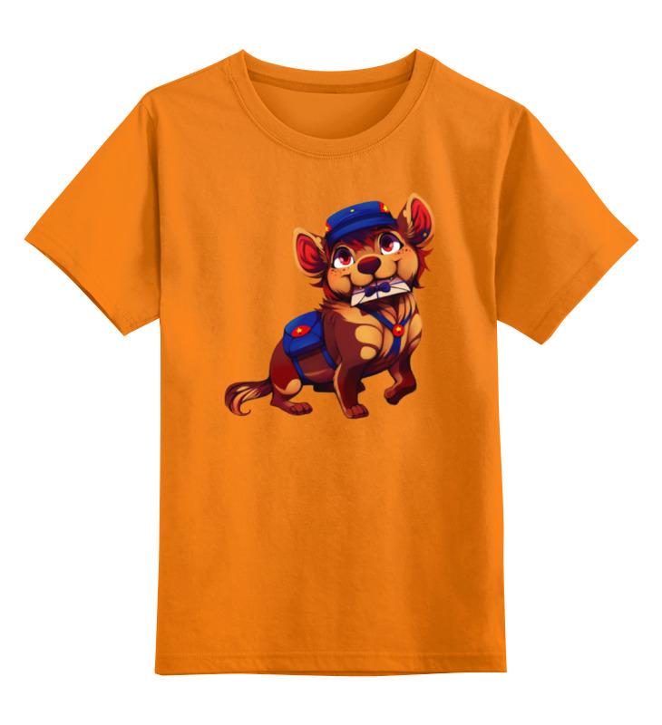 Детская футболка классическая унисекс Printio Собачка почтальон