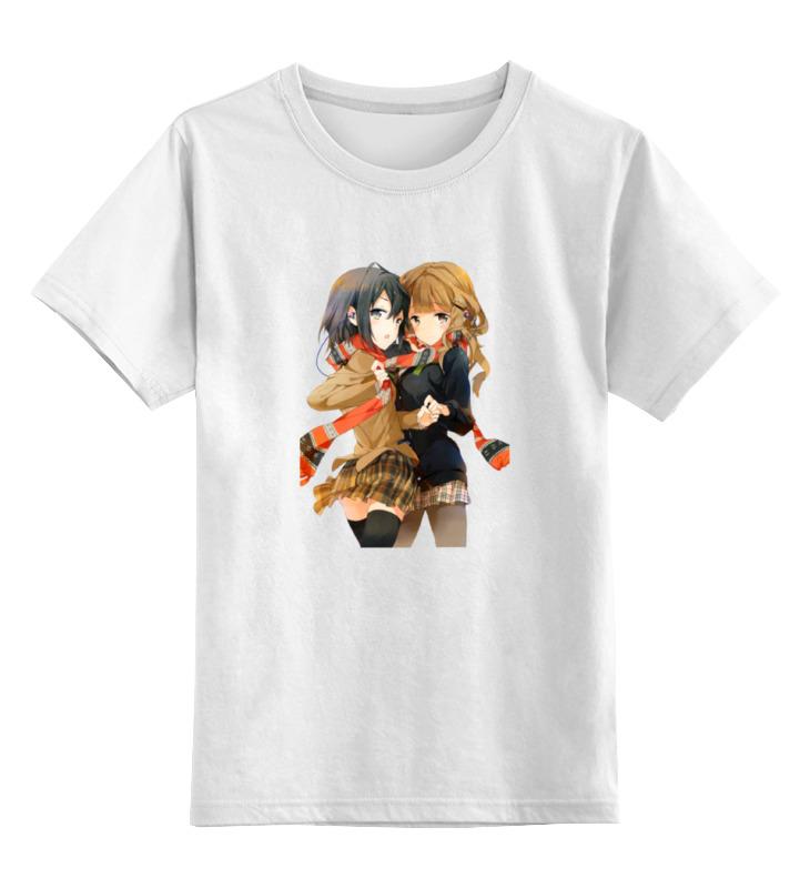 Детская футболка классическая унисекс Printio Девушки футболка классическая printio девушки