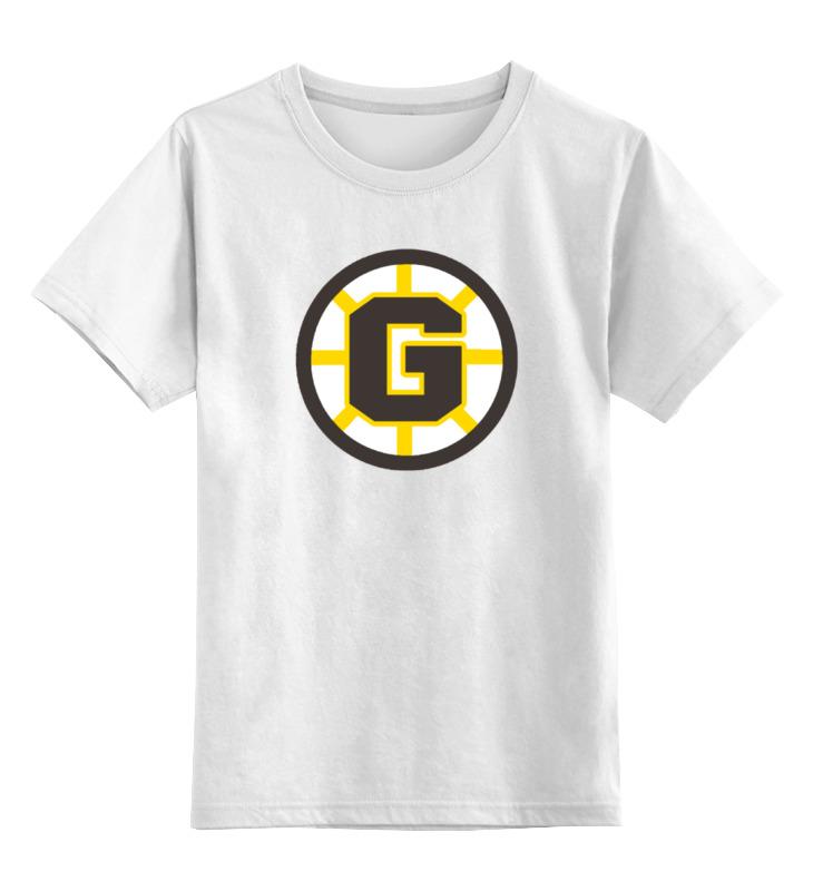 Детская футболка классическая унисекс Printio Счастливчик гилмор
