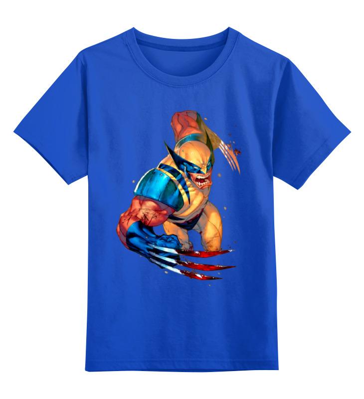 Детская футболка классическая унисекс Printio Wolverine детская футболка классическая унисекс printio x men wolverine