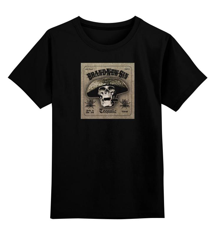 Детская футболка классическая унисекс Printio Tequila-brand new sin